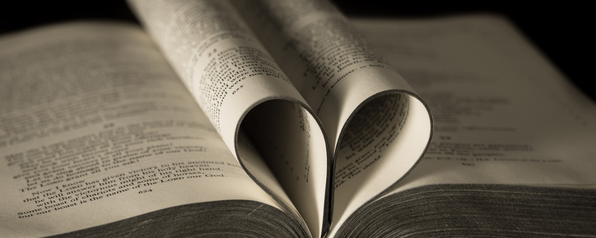 Photo of Bible by Barney Moss.
