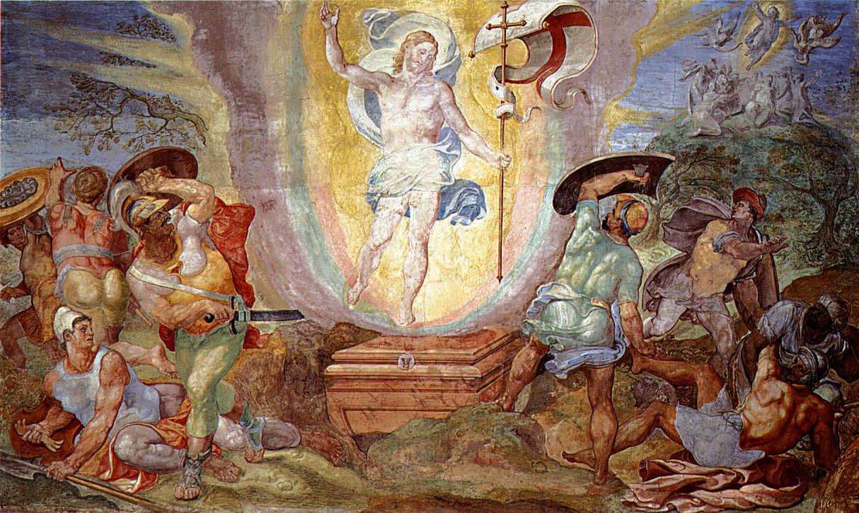 Resurrection of Christ from the Sistine Chapel